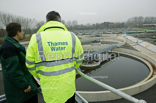 Thames Water Maple Lodge Sewage Works, Rickmansworth, Hertfordshire. - David Mansell - 2006-02-02