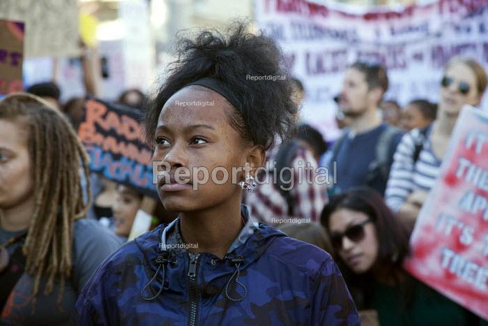 California, USA - March celebrating the birthday of Rev. Martin Luther King Jr. - David Bacon - 2015-01-19