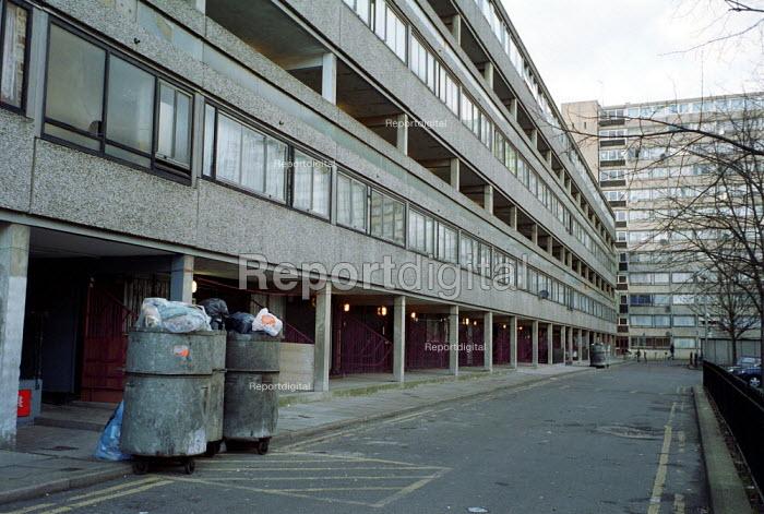 Council Estate North London - Duncan Phillips - 2002-02-06