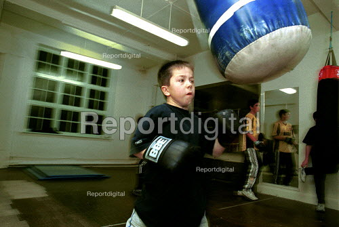 Boxing training at Boxing Gym islington London - Duncan Phillips - 2000-11-15