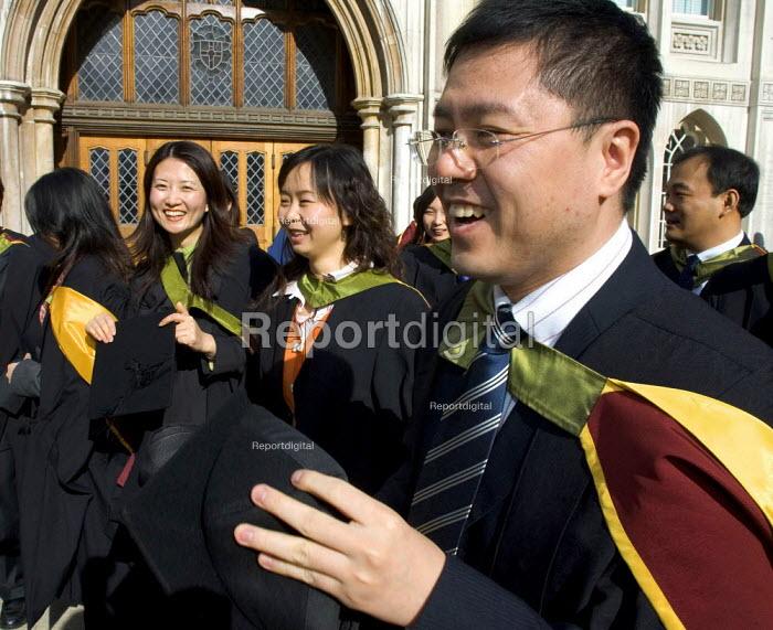 University graduation celebration, Guildhall, London - Duncan Phillips - 2006-03-01