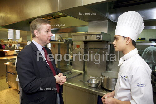 The independent Wolf Review into vocational education, commissioned by Education Secretary Michael Gove launch event, Westminster Kingsway College, London - Duncan Phillips - 2010-03-03