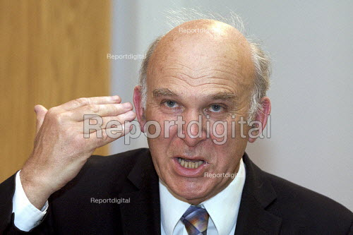 Vince Cable MP speaking at Cass business school, London - Duncan Phillips - 2010-06-03