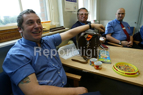 Train Drivers in staff canteen - Duncan Phillips - 2003-07-27