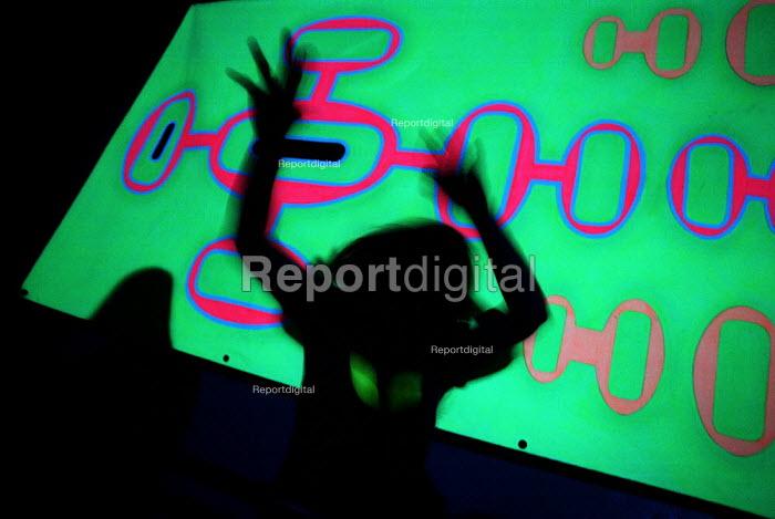 Students Dancing in nightclub , Bangor Wales - Duncan Phillips - 1999-05-30