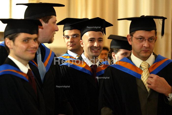 Graduation ceremony - Duncan Phillips - 2004-10-08