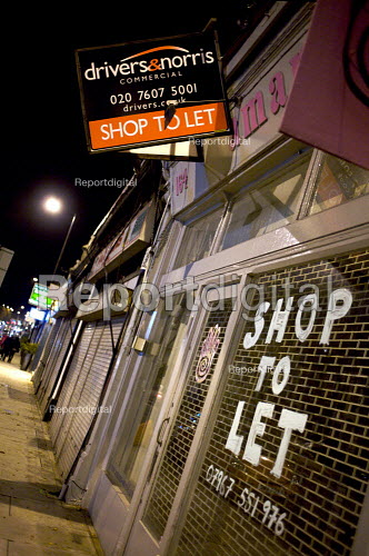 Small Retail Business, Shop to let. London - Duncan Phillips - 2008-11-25
