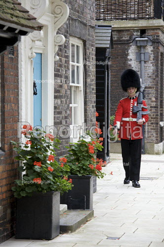 Guard at the tower of London - Duncan Phillips - 2008-07-15