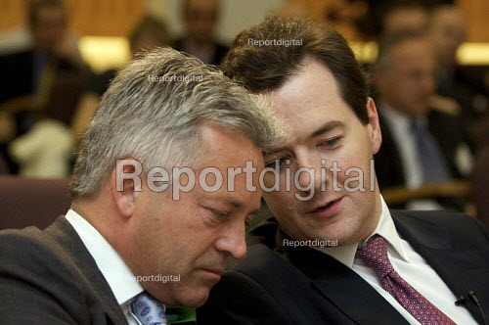 Alan Duncan MP and George Osborne MP - Duncan Phillips - 2008-07-17