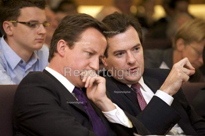 David Cameron MP and George Osborne MP - Duncan Phillips - 2008-07-17