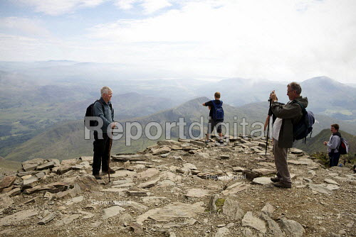 Summit of Mount Snowdon, North Wales - Duncan Phillips - 2011-08-03