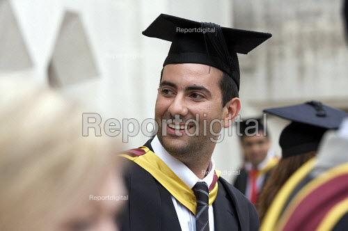 University Graduation at Guildhall, in London. - Duncan Phillips - 2010-05-18
