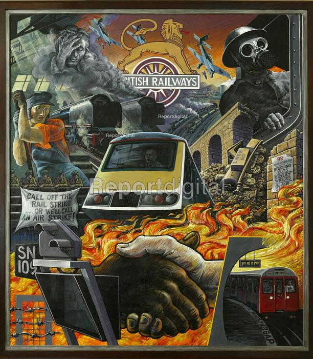 ASLEF mural - Duncan Phillips - 2004-05-28