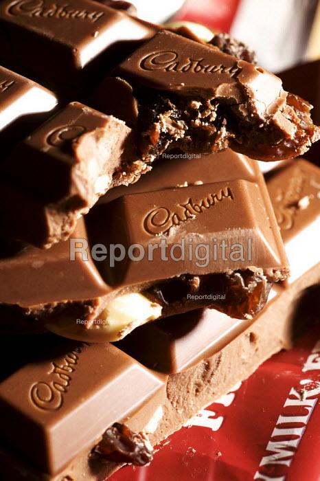 Bar of Cadburys Fruit and Nut milk Chocolate - Duncan Phillips - 2010-01-20