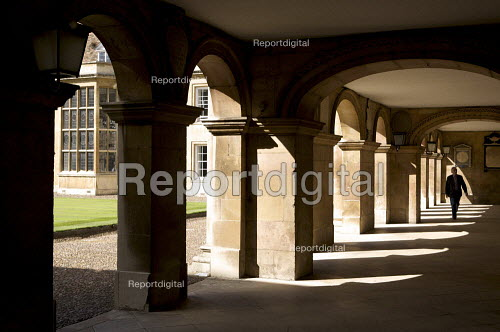 James Essex's arches. Emmanuel College Cambridge. - Duncan Phillips - 2010-09-17
