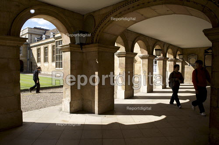 James Essex's arches. Emmanuel College Cambridge. - Duncan Phillips - 2010-09-17