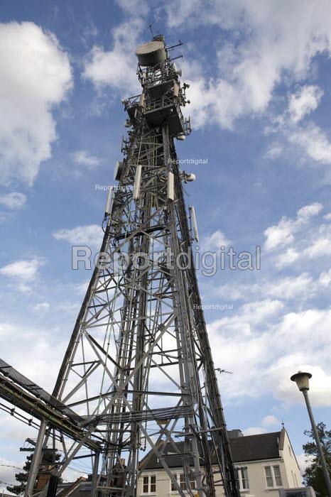 Telecommunications mast, Swain Lane, Highgate London - Duncan Phillips - 2010-10-01