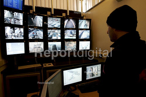 CCTV Control room - Duncan Phillips - 2007-02-01
