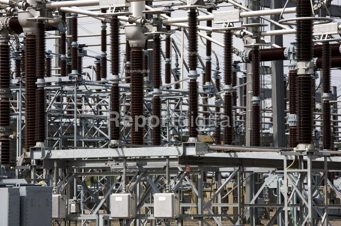 Hams Hall Electricity Substation. - Duncan Phillips - 2009-06-04