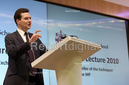 George Osborne MP Delivering The annual Mais Lecture Cass Business School - Duncan Phillips - 2010-02-24