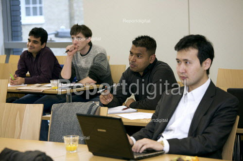 University students in a lecture. - Duncan Phillips - 2010-03-13