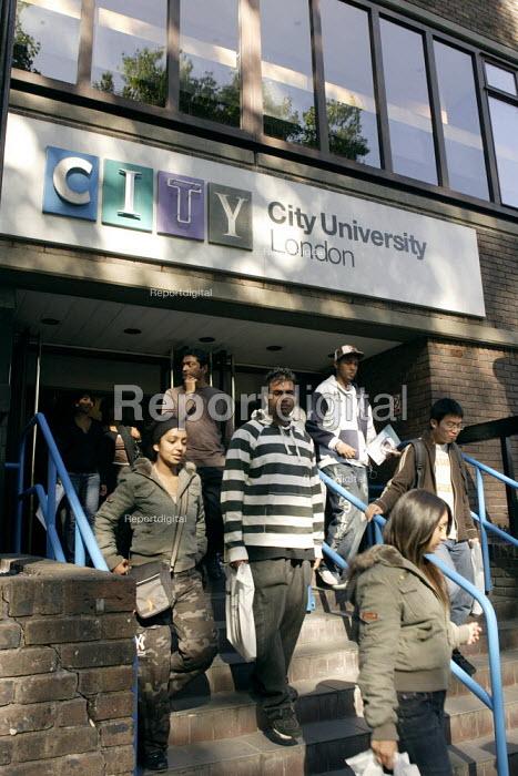 City University London - Duncan Phillips - 2006-10-07