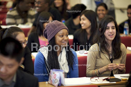 University students in a lecture. - Duncan Phillips - 2009-10-14