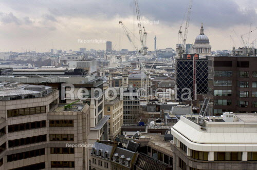 City of London with St Pauls - Duncan Phillips - 2009-02-19