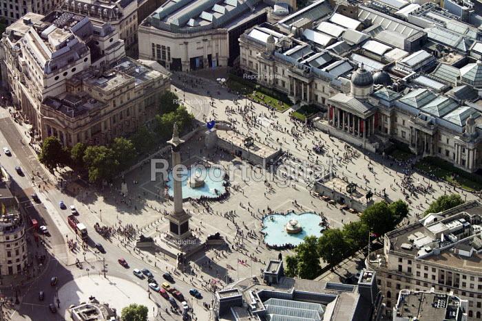 Aerial View of London - Trafalger Square, London - Duncan Phillips - 2013-07-26