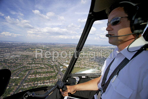 Aerial View of London - Helicoptor Pilot. - Duncan Phillips - 2013-07-26