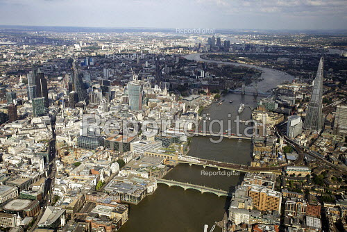Aerial View of London - Aerial View of London - The Shard and the City of London - Duncan Phillips - 2013-07-26