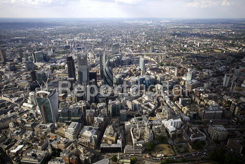 Aerial View of London - City of London - Duncan Phillips - 2013-07-26