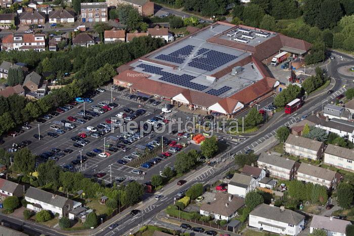Aerial View of London - Sainsburys supermarket - Duncan Phillips - 2013-07-26