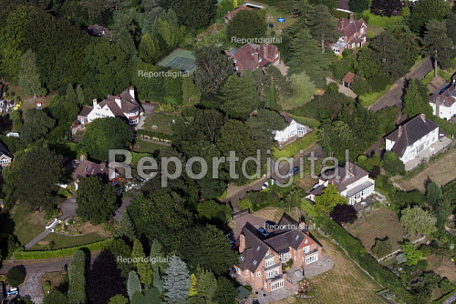 Aerial View of London - Detached Housing Surrey ok - Duncan Phillips - 2013-07-26