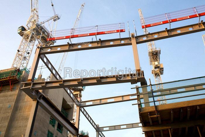 Construction site, City of London. - Duncan Phillips - 2009-03-18