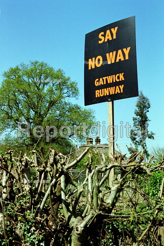 Local opposition to the expansion of Gatwick Airport. - Duncan Phillips - 2003-04-17