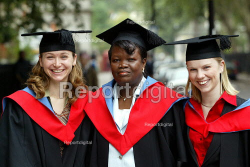 Student at University Graduation Day. - Duncan Phillips - 2003-10-03