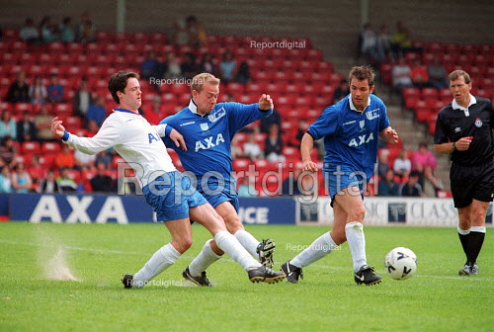 Football match MSF sponsored open day. Walsall Football Club. - John Harris - 2000-07-22