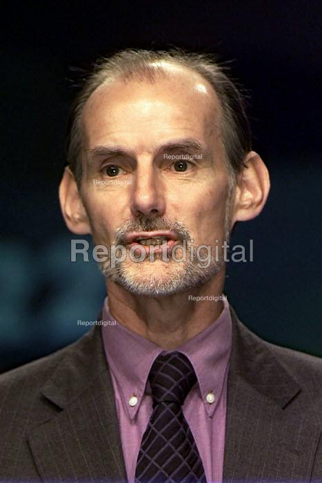 Martin Johnson NASUWT, addressing TUC congress - John Harris - 2000-09-12