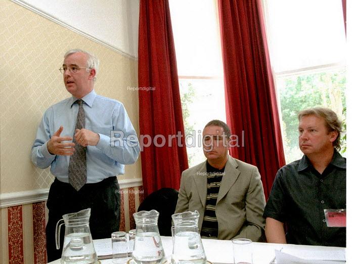 Peter Rimmer MSF conference. - John Harris - 2001-07-14