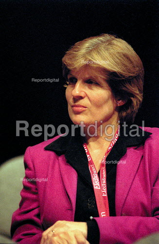 Sally Keeble MP Labour Party Conference 2001 - John Harris - 2001-10-01