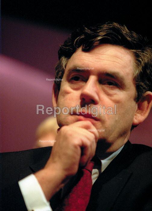 Gordon Brown Labour Party Conference 2001 - John Harris - 2001-10-02