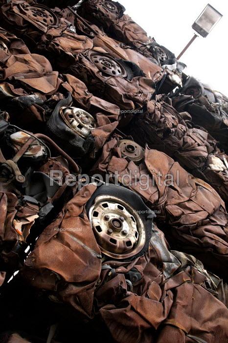 Scrap cars. - John Harris - 2003-05-22
