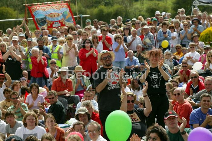 Tolpuddle Martyrs Festival Dorset. - John Harris - 2003-07-20