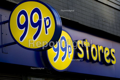 99p store for cheap products, Brixton. South London. - Jess Hurd - 2009-08-21