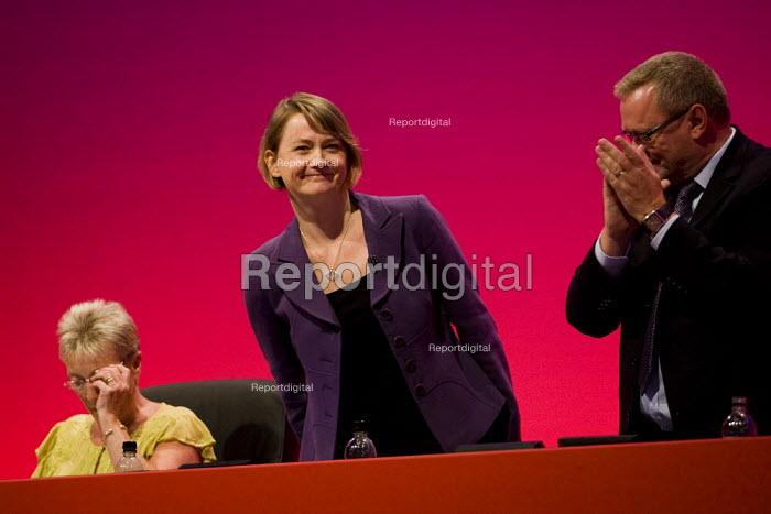 Yvette Cooper MP. Labour Party Conference 2009. Brighton. - Jess Hurd - 2009-09-28