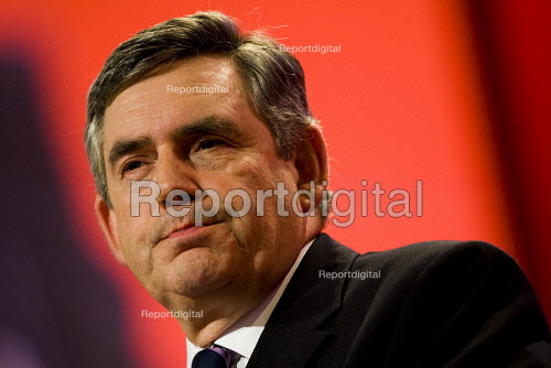 Gordon Brown. Labour Party Conference 2009. Brighton. - Jess Hurd - 2009-09-29