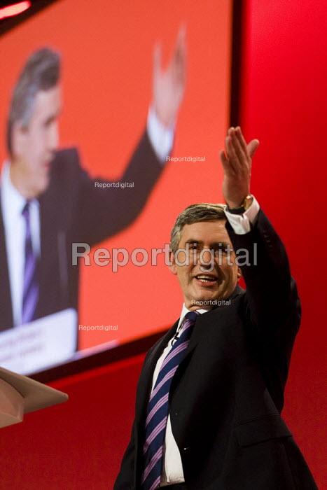Gordon Brown. Labour Party Conference 2009. Brighton. - Jess Hurd - 2009-09-29