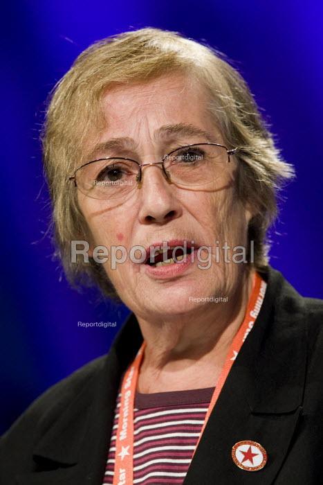 Anita Halpin, NUJ. TUC Conference, Liverpool. - Jess Hurd - 2009-09-16