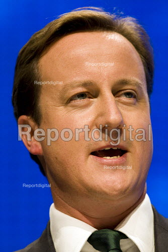 David Cameron.Conservative Party Conference 2009. Manchester. - Jess Hurd - 2009-10-05